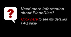 PianoDisc Installation FAQ's